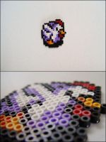 Link to the Past chicken bead sprite by 8bitcraft
