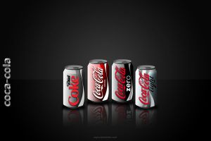 coca-cola by ozyre
