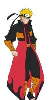Flame Coat Naruto RMX by fresh72