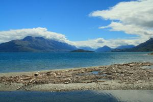 queenstown lake by white-fang