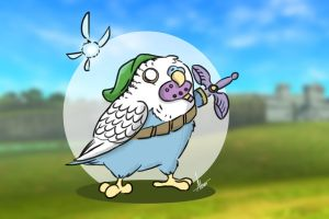 The legend of Budgie by Almiux19