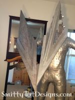 Pyramid Heads- Aluminum and Plastic by Smitty-Tut