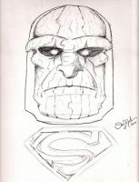 Darkseid by Dan J. Gutwein by danjgutweincreations