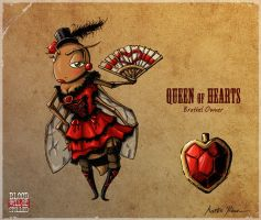 Queen of Hearts by mkozmon