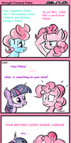 Straight Foward Pinkie by OddClyde