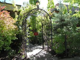 garden gate by brandrificus-stock