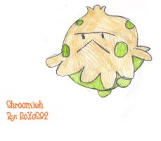Shroomish by RoXoS92