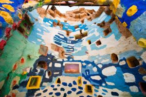 Salvation Mountain Alcove by trevor-w