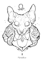 Cattoo by MykalaBlue