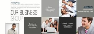 Business Facebook Cover by Designhub719