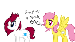 MLP Adoptables 4 Points Each by Puppies567