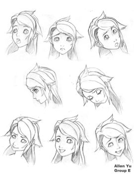 expression sheet by 4164120003