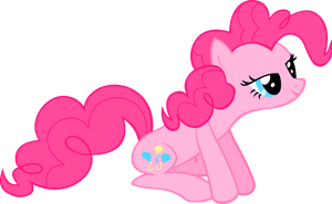Pinkie Pie, sitting by SkyRings
