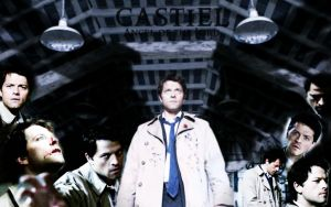 Castiel desktop by Taaroko