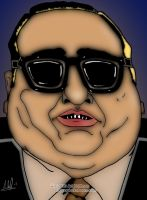 Fat Vinnie Teresa... Art Work by arihoff