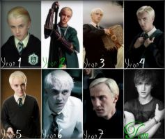 Draco, Through the Years by oblivion-LOTR-Zelda