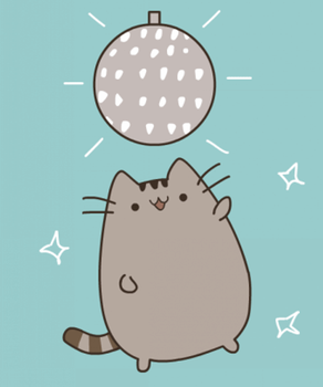 Pusheen Disco ANIMATED GIF by MarkP0rter