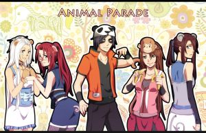 Naruto OC Animal Parade by unicornchen