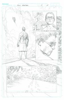 The Incredible Hulk - Issue 2 Page 6 PENCILS by MichaelBroussard