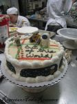 Wall-E Cake by RegretsxAndxRomance