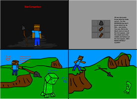 Minecraft Item Ideas: Spears by Tomanator490