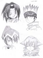 .:Shaman King:. by Tikal513