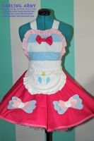 Pinki Pie Cosplay Pinafore Commission by DarlingArmy