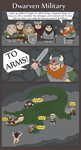 Dwarven Military by Xuupi
