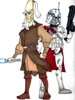 Commander Bacara and General Mundi by Spartan-055