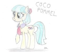 Coco Pommel (Drawing version) by BrogarArts