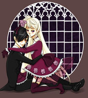 Darcy and Berenice by kiimcakes