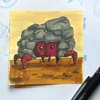 Post-It Creatures #2 by tanggod