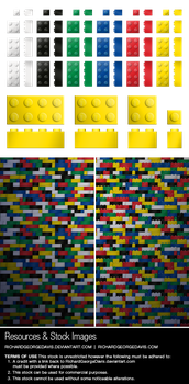Lego Stock Pack by RGDart