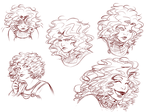 Expressions - Hildr by Damatris