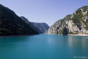 Piva reservoir by a137