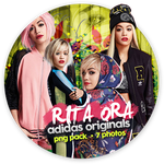 Rita Ora png pack adidas originals by iamszissz
