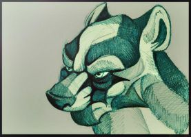 Badger Lord. by FortunataFox