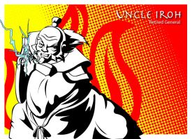 Pop art series: Uncle Iroh by ekormekolindo