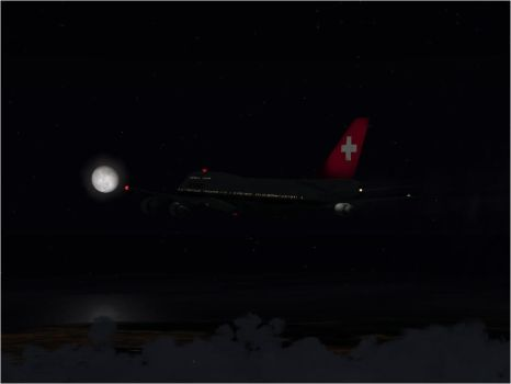 Fly Me To The Moon... by Swissair171