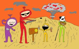Teletubbies  by MyMicrosoftPaint