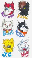 Badges for friends by dragon-x2