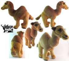 16in tall Brown Camel Plush by AnimalArtKingdom