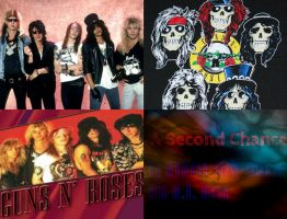 The Crappy Cover to GNR A Second Chance by MKMoon-Mew-GNRFan