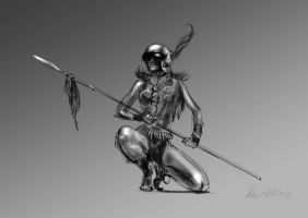 daily sketch  2204 by nosoart