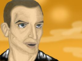 Ninth Doctor Version 3 painted by spiritofthebeast