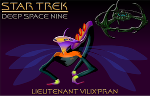 Lt Vilix'pran Star Trek Deep 9 by S0LARBABY