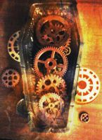 Coffin of cogs by coffeeandshades