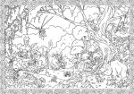 Viking Quest double page by tangraartbook