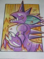 Nidoking - Earthquake by TheSonoftheDarkness