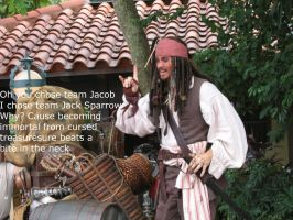 Jack Sparrow with Caption by niki1313